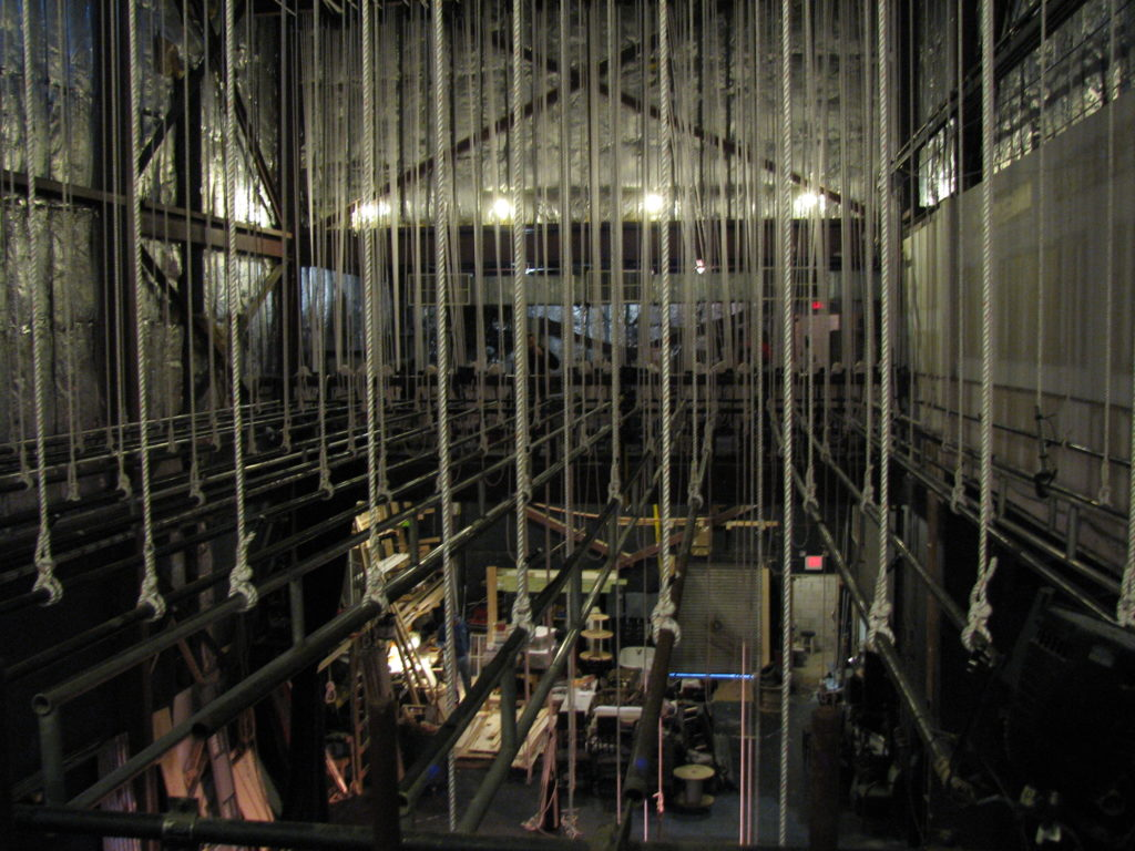 Theatre Equipment Inspection Hemp Rigging