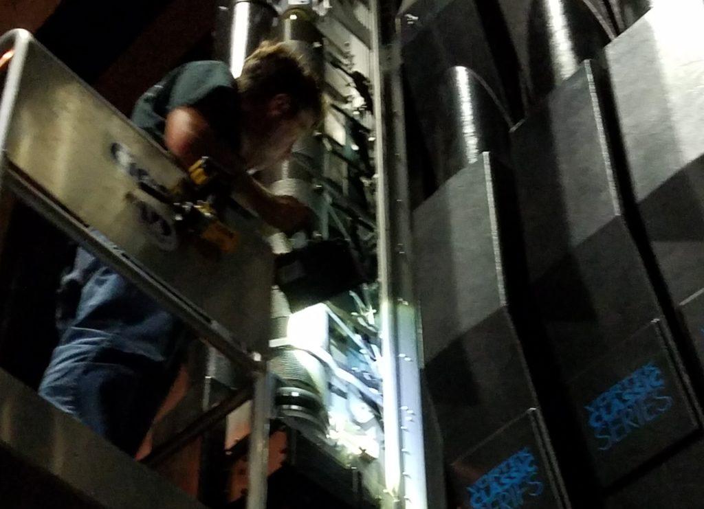 Theatre Equipment Inspection
