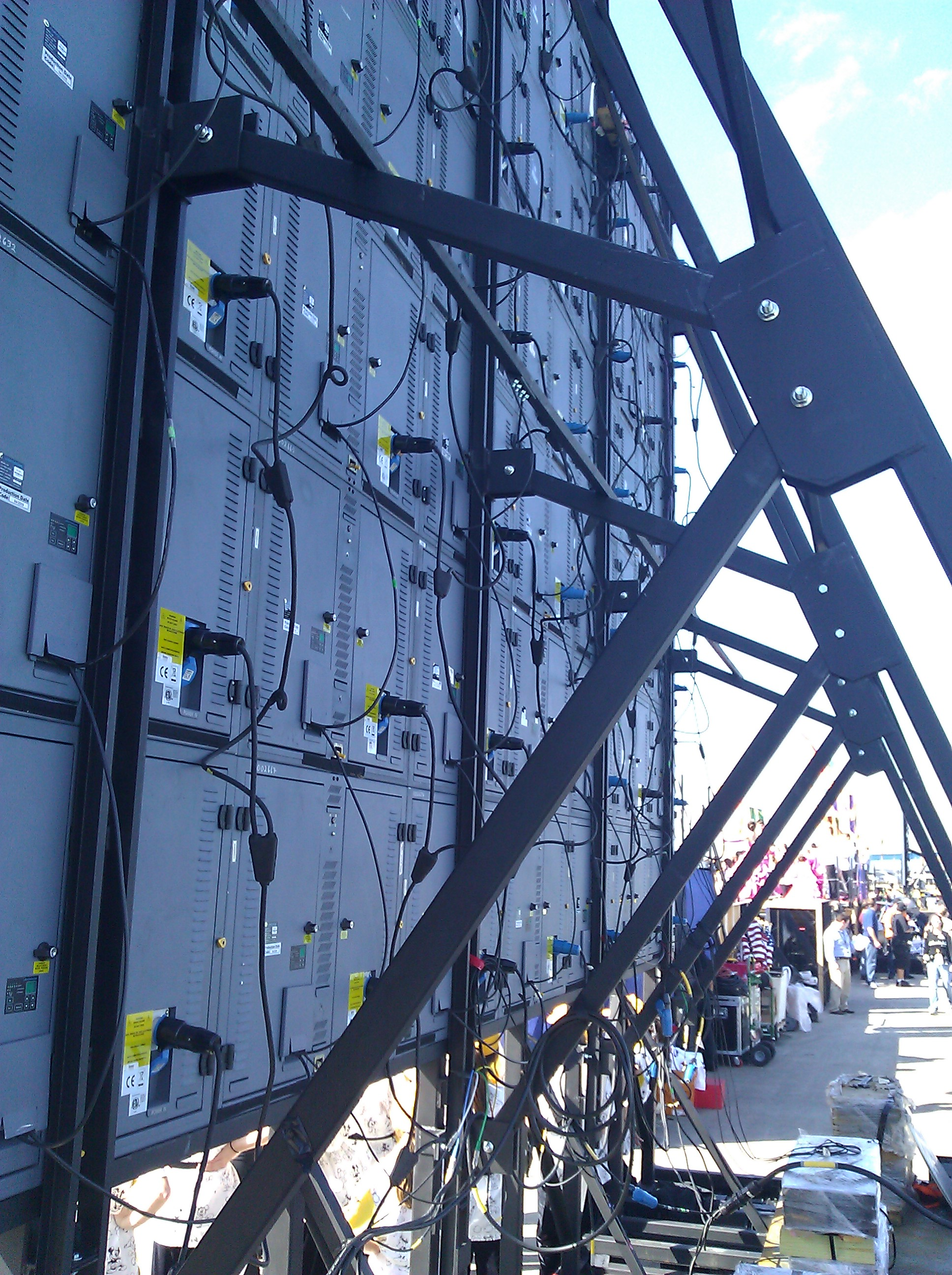 LED Screen & Wall Rigging | IA Stage