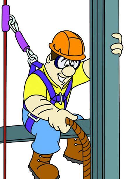 drawing of guy rigging