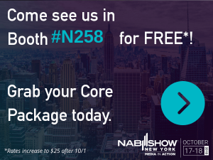 Register for a Free Core Package for NAB Show New York