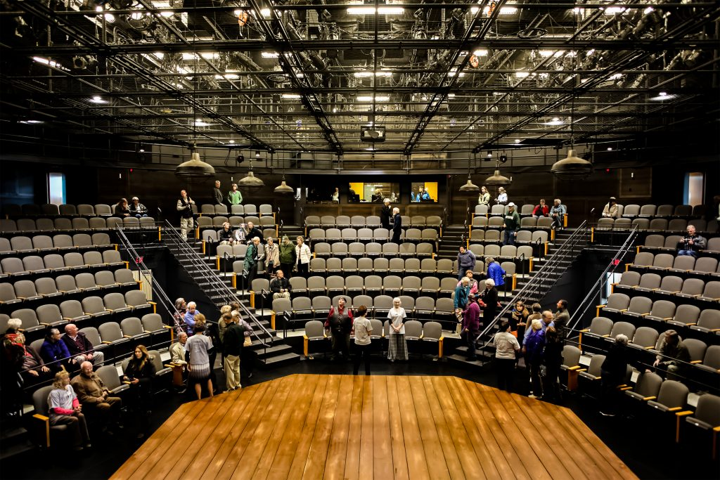 Photo of the Byrne Theatre at The Barrett Center for the Arts