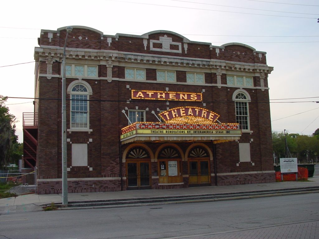 Historic Athens Theatre located in DeLand, FL