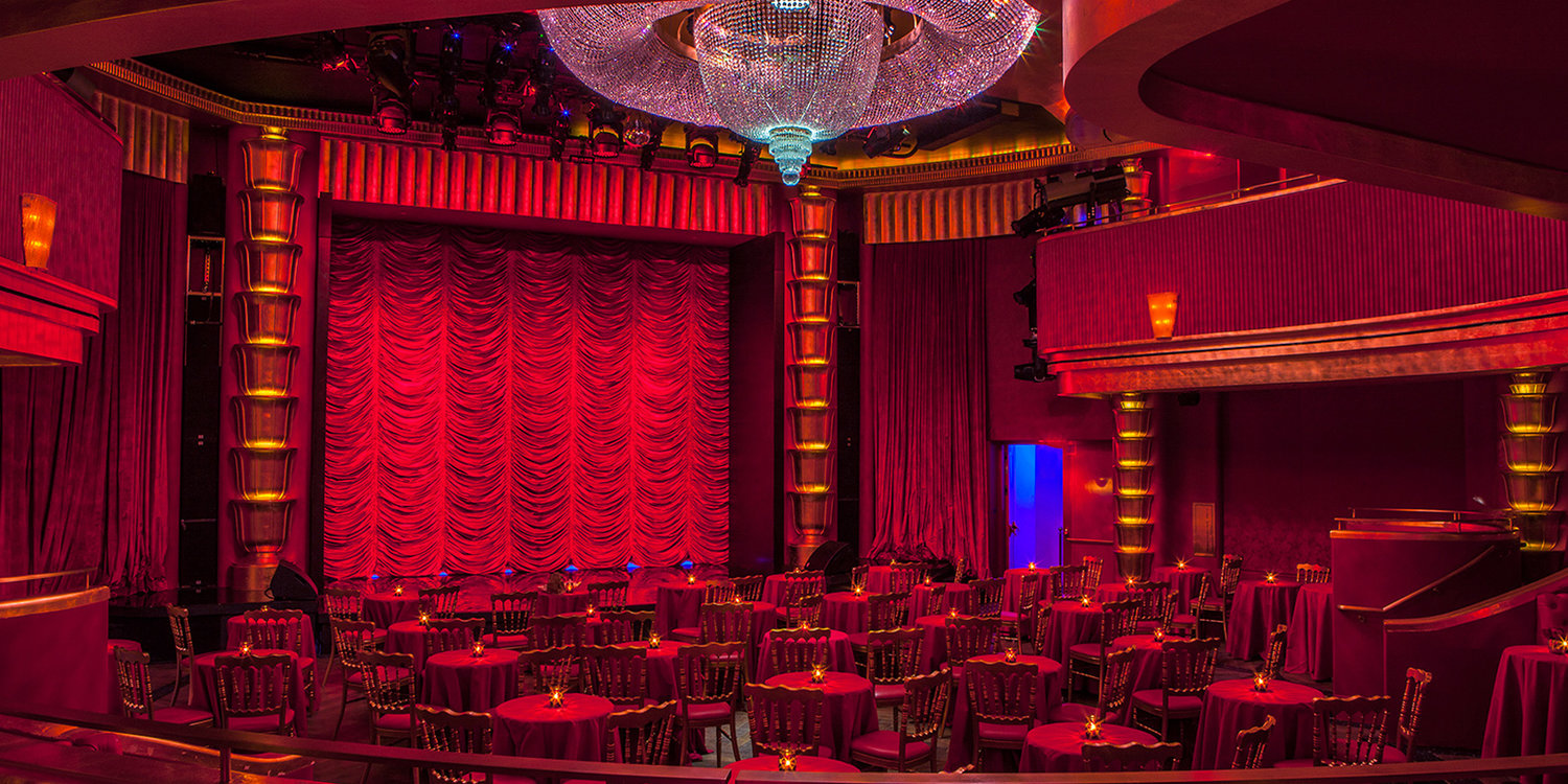 Interior view of the Faena Theater, a gem of a performance space housed inside the Faena Hotel Miami Beach.