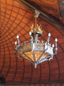 Round Top Festival Institute's rigging solution came in the form of chandelier hoists.