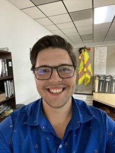 Seth Donaldson, Project Management Assistant/Safety Officer at IA Stage.